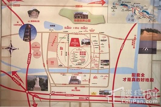 华悦尚品交通图