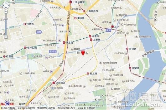 徐汇区漕河泾社区196a-08地块交通图