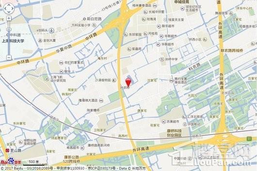 张江南区配套生活基地A3-06地块交通图