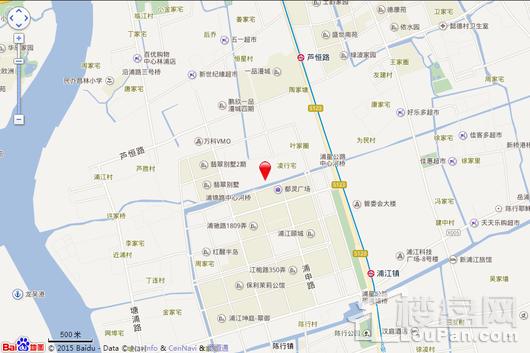 上海桃花源交通图