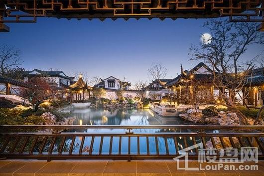 上海桃花源实景图