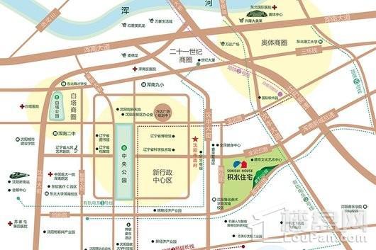 裕沁听月轩交通图