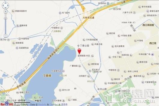 中铁香湖位置图