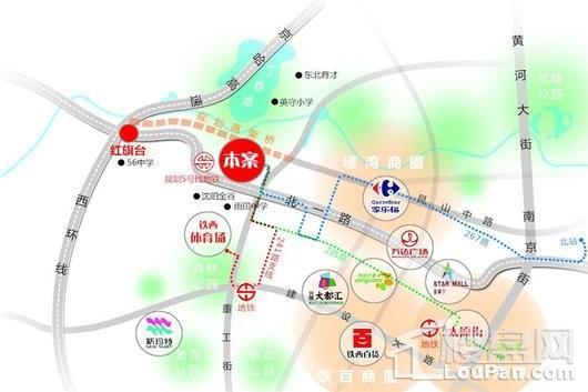 意大利风情小镇交通图