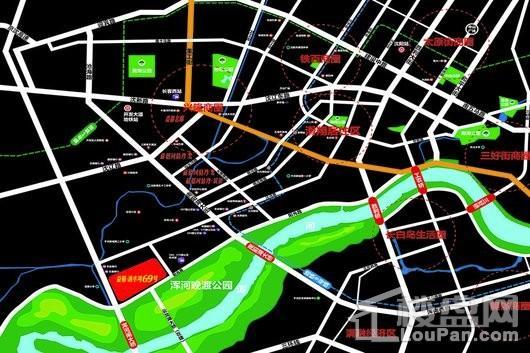 益格清水湾69号交通图