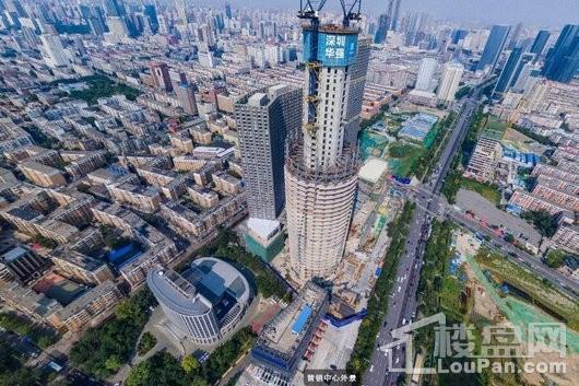 华强商业金融中心实景图