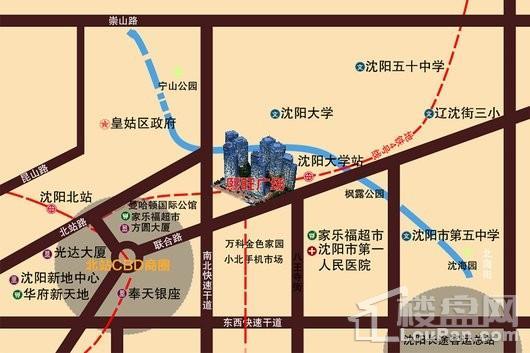 熙旺广场位置图