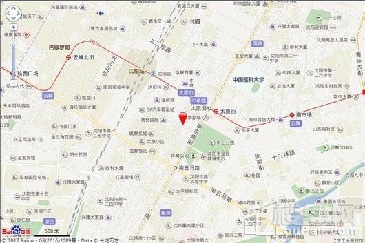 盛京保利文化中心交通图