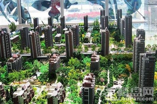 明华香峪兰溪实景图