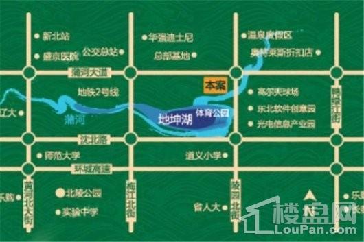 三盛颐景蓝湾位置图