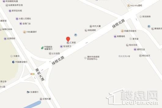 汇贤居交通图