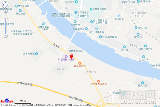 苏宁·悦兰湾交通图