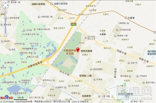 卧龙谷玖号交通图