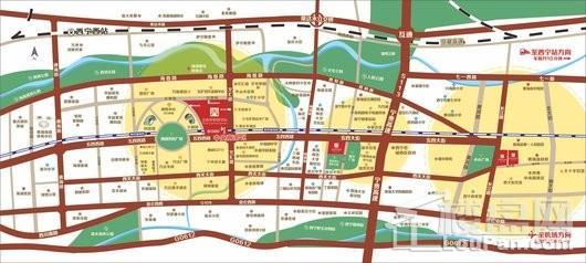 王府井·大象城缤纷街交通图