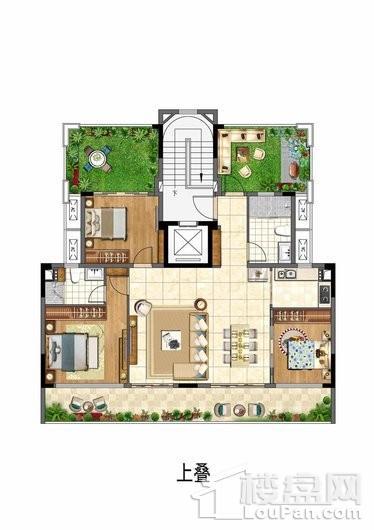 保利李白的院子户型图