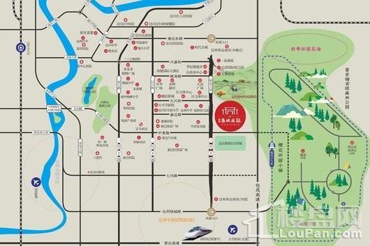 盛煌·南城国际交通图