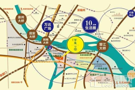 苹果公园交通图