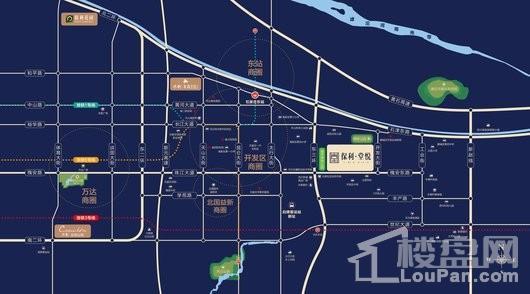 保利堂悦交通图