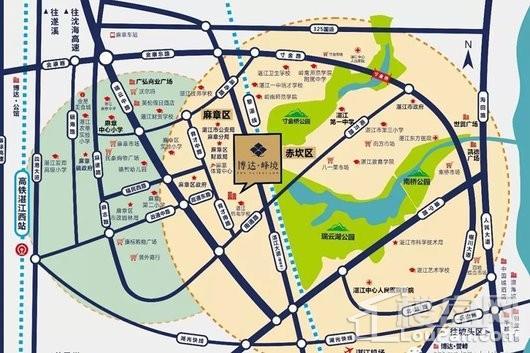博达峰境交通图