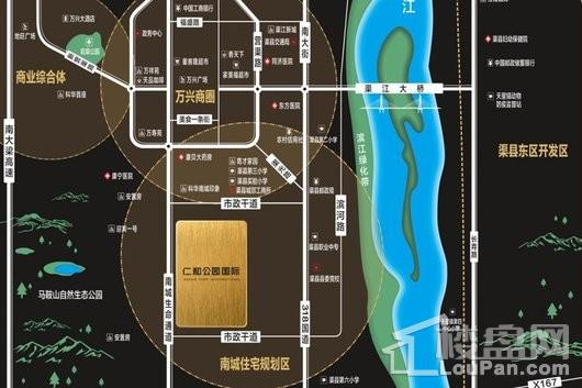 仁和公园国际交通图