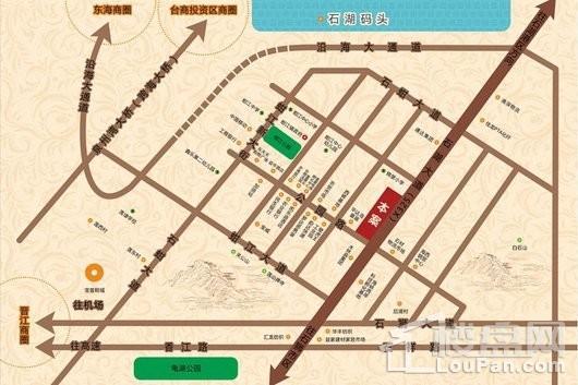 物华天城交通图