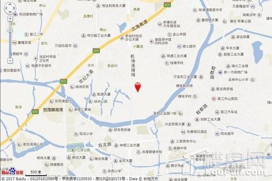 晋江宝龙世家交通图