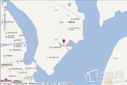 碧桂园·海湾城交通图