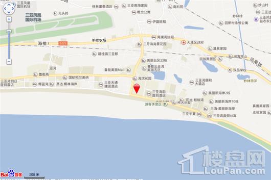 碧桂园海上大都会右岸交通图