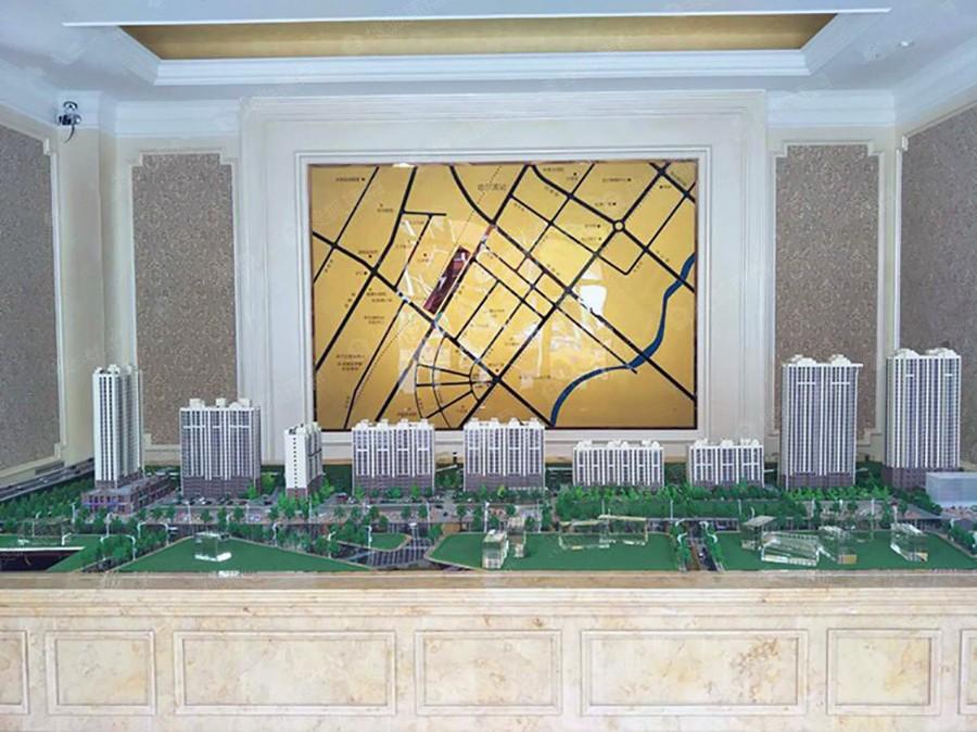高铁家园实景图