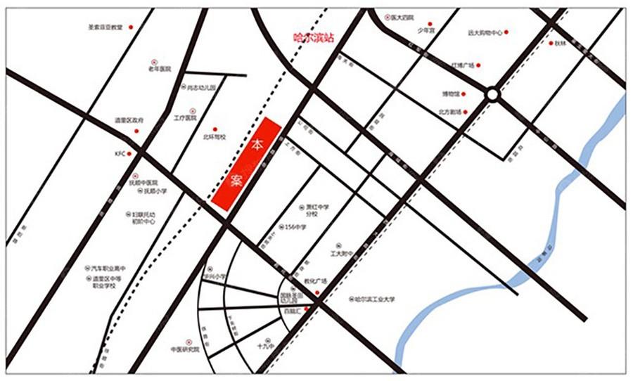 高铁家园位置图