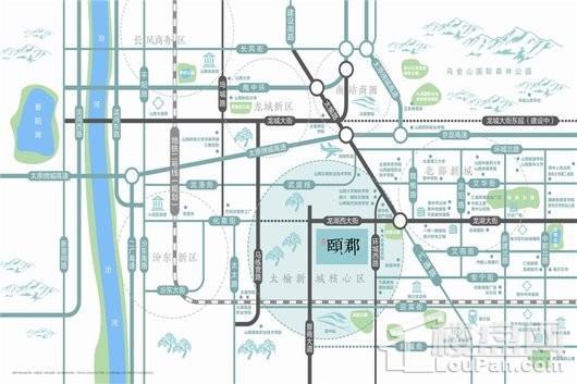 辰兴·颐郡位置图