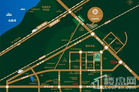 汇元幸福森林交通图