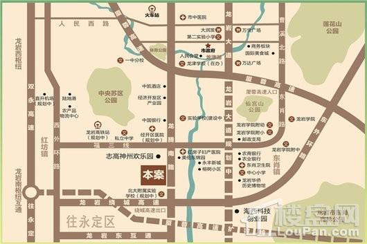 印象公園里交通圖