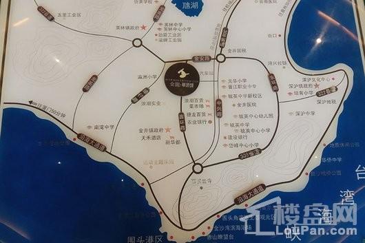 金龙华侨城交通图
