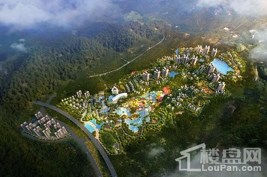 泉州天沐温泉国际旅游度假区效果图