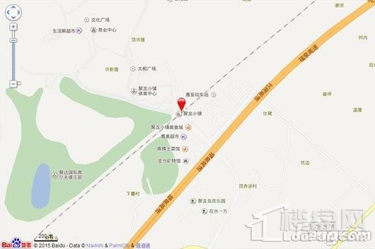 聚龙小镇交通图