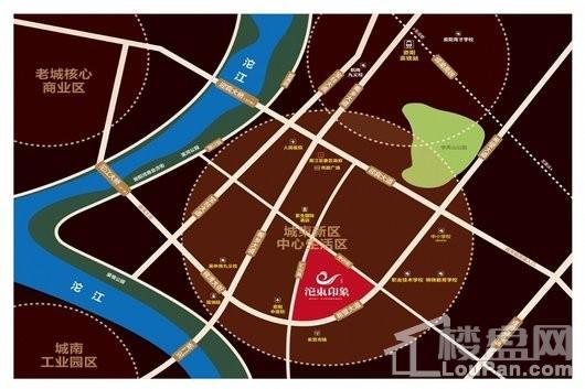沱东印象交通图