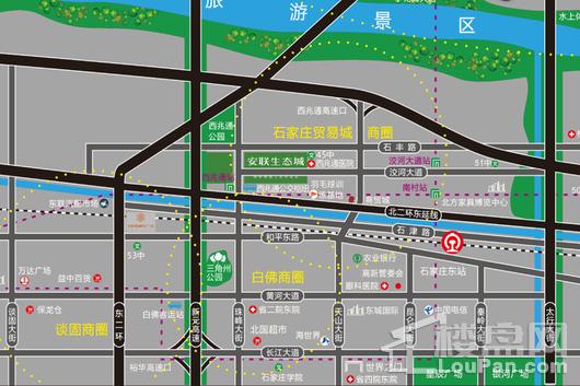 安联生态城交通图
