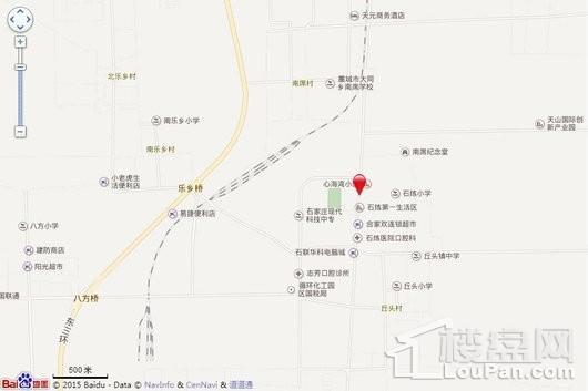 润江紫宸院交通图