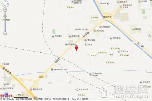 福临名邸交通图