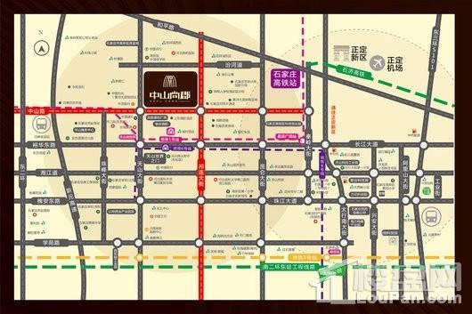 中山尚郡交通图