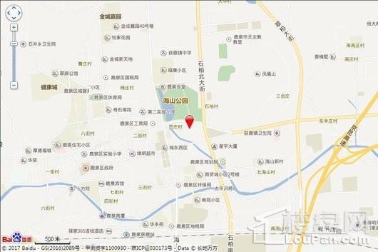 慧昌海山湖交通图