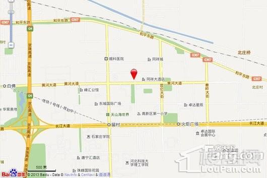 同祥城优品街交通图