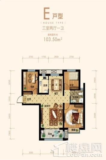 润江煦园户型图