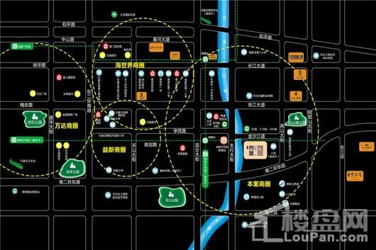润江煦园交通图