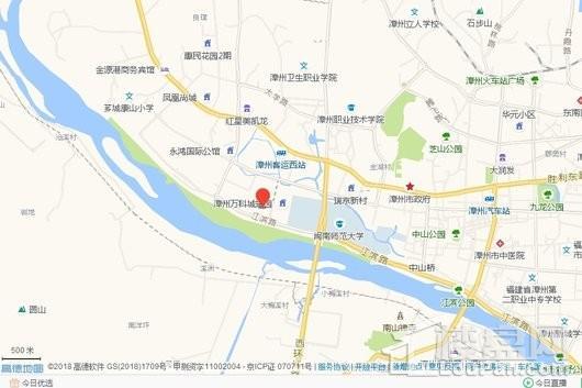 禹洲雍江府交通图