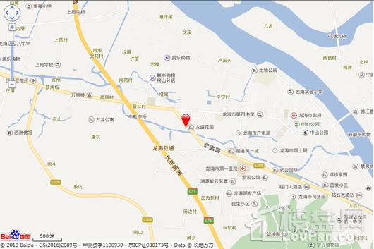 古龙西溪嘉园交通图