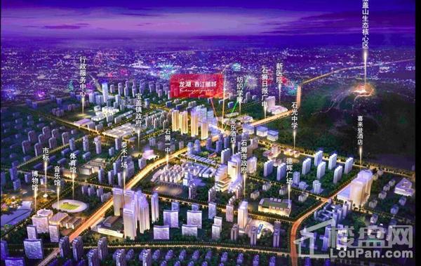 龙湖石狮春江郦城位置图