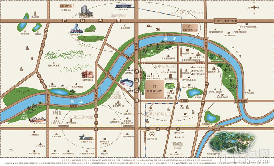 新城·悦隽风华位置图