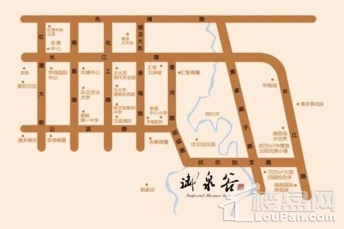 御泉·国际公馆位置图